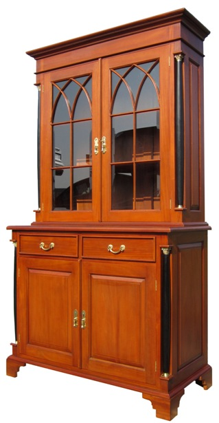 buffet vitrine stil biedermeier antik amotik shop. Black Bedroom Furniture Sets. Home Design Ideas